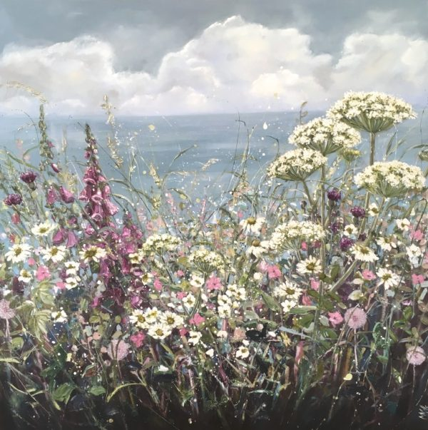 Marie Mills - A gentle breeze 100 x 100 £2250