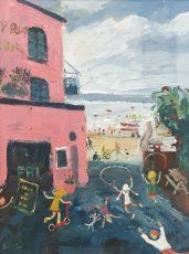 Simeon Stafford - Ferry Boat Inn 2 - 40x30 £1200