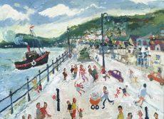 Simeon Stafford - North Embankment 60x40 £2000