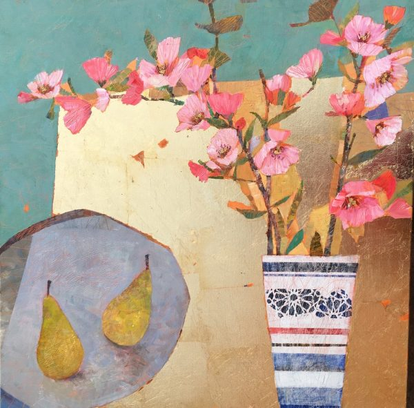SAF 3 Cherry Blossoms 30x30 in £1085