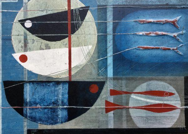 Top of the tide.32 x 25cm.Heidi Archer