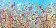 Yvonne Coomber Your sweetest love makes my heart Blossom 60x120