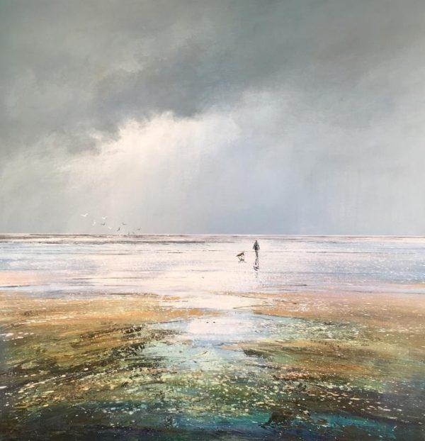 Michael Sanders Low Tide 90 x 90 cm £1495