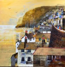 "Scenic walk, Dartmouth, size 23.5"" x 23.5"", £995"