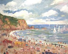 Simeon Stafford - Blackpool Sands - 76x61 £2500
