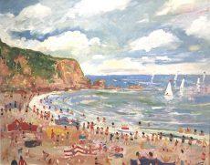 Simeon Stafford - Blackpool Sands - 76x61 £2500