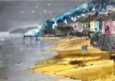"The Quay, Dittisham, size 23.5"" x 16.5"", £795"
