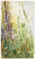Gentle Light Through the Grasses- mixed media - 37 x 21 £675.00