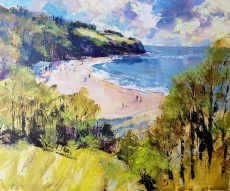 Spring sunshine, Blackpool Sands 2x24
