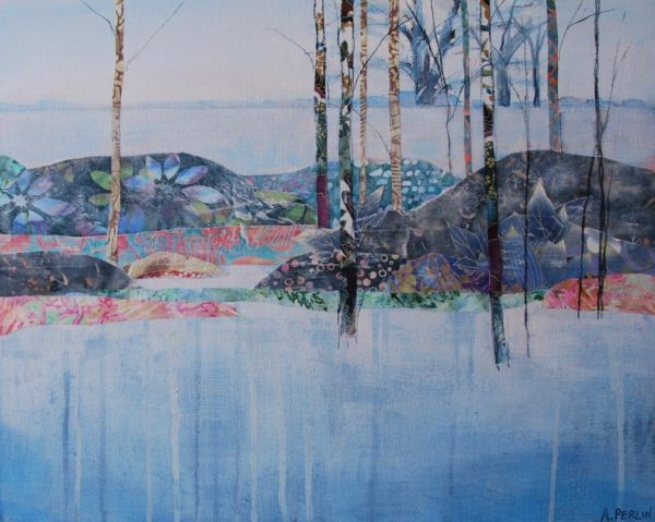 Frosted Landscape 30x40cm £850