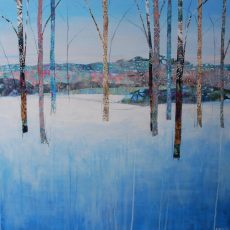Frozen morning 76x76cms £1795