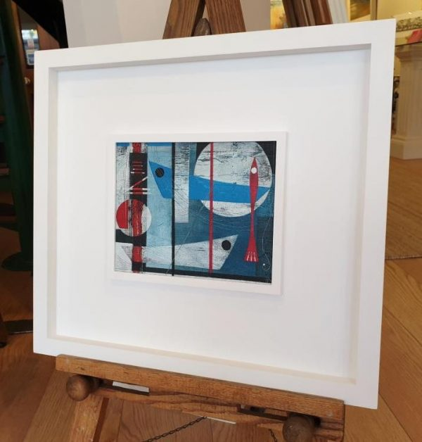 Heidi Archer Fish and Boats Framed