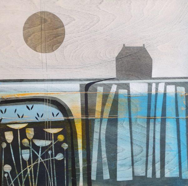 Heidi Archer Morning Stillness on wood 30x30