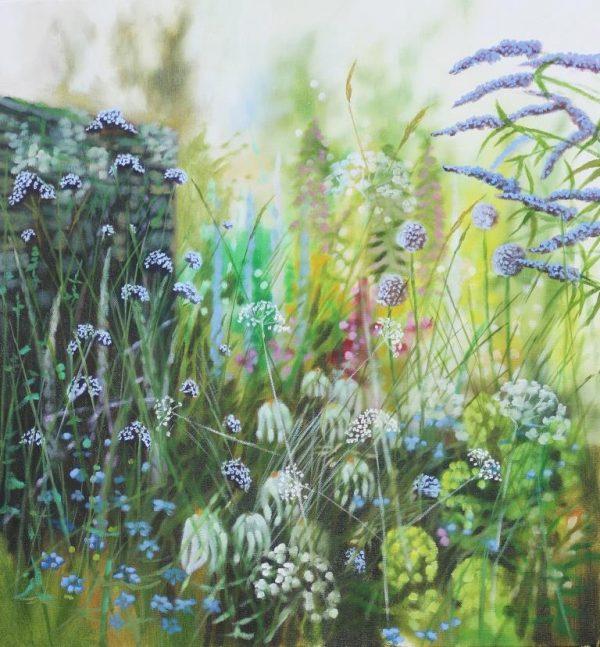 Island garden border VII
