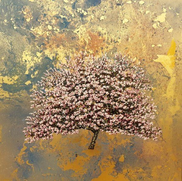 Jack Frame - Cherry Blossom Study; Gold Blossom 2