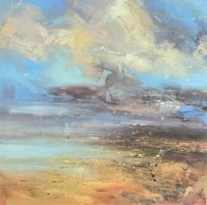 Low flying cloud 80x80cm