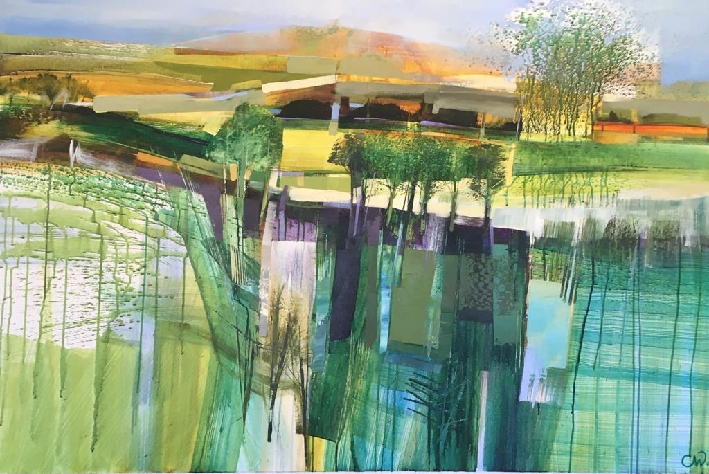 Celia Wilkinson Pastures New 150x100 £6000