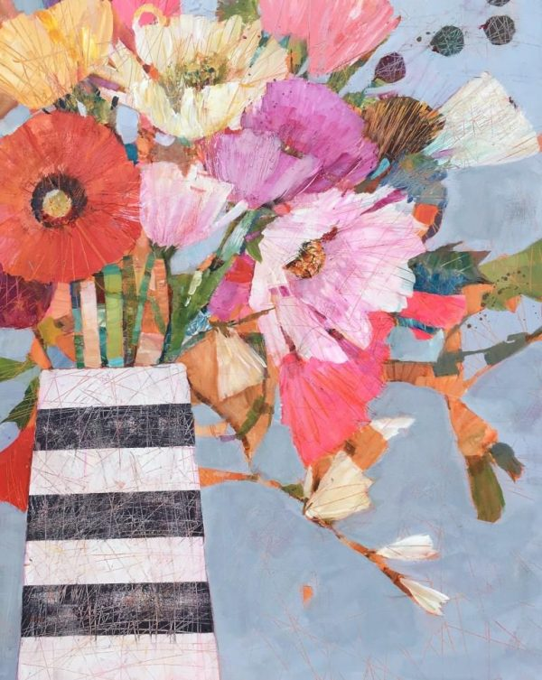 Sally Anne Fitter Alice's Bouquet 61x76 in Framed £895