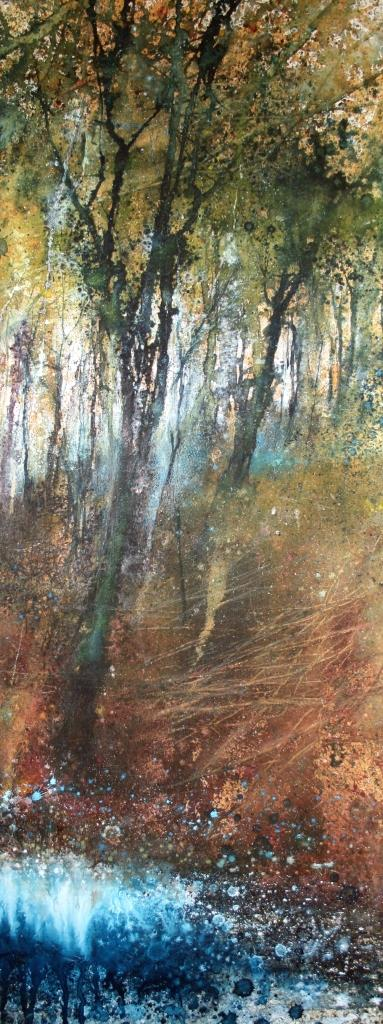 To the Edge of the Bluebells II (32 x 81cm)