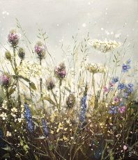 Dew drops and teasels 60 x 70 £1150
