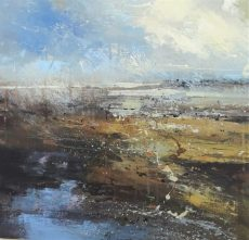Claire Wiltsher - Spatial connection 2 50x50cm (002)