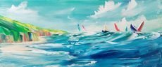 Jan Nelson - Landcombe Cove 70x30cm