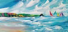 Jan Nelson - Thurlestone Rock 80x40cm