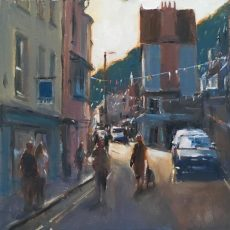 Roger Dellar 'Lower Street, Dartmouth' 30x30 £695