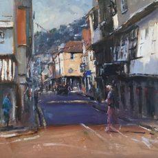 Roger Dellar 'Duke Street, Dartmouth' 30x30 £695