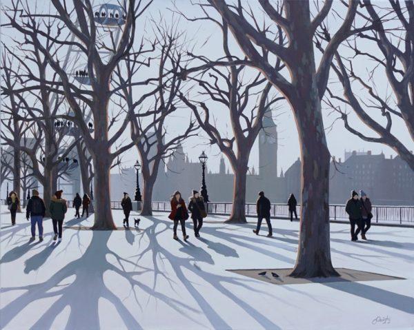 Jo Quigley Westminster Walk II 61x76 £1595