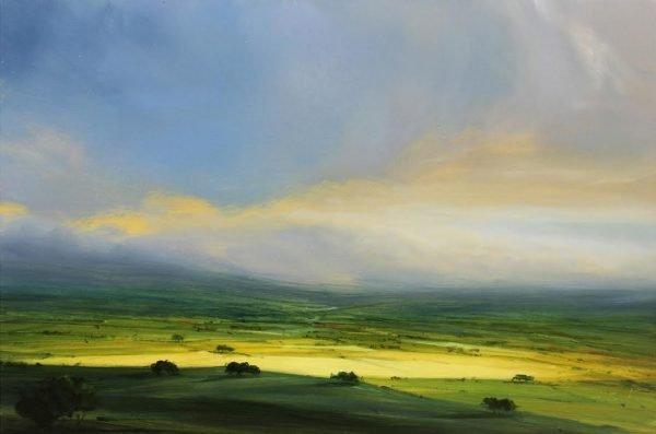 Harry Brioche Late Evening Sun 12x18 £1000