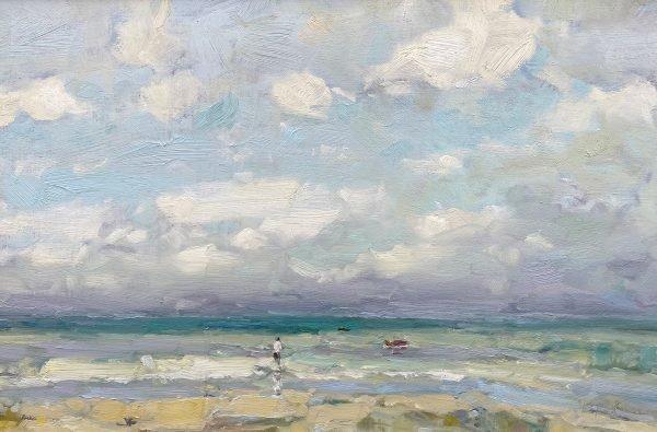 Harry Brioche Low Tide 12x18 £1000
