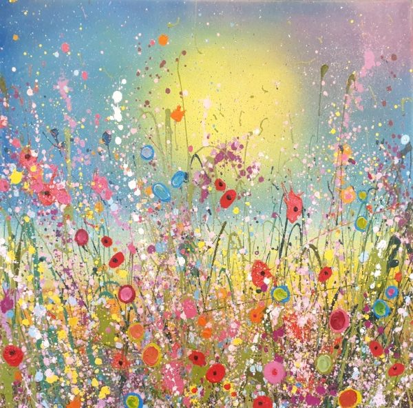 Yvonne Coomber - All of the wild flowers of my heart 2 70x70 £1490