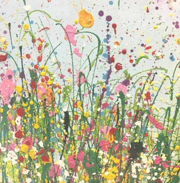 Yvonne Coomber - Wild and Tender (i) 25x25cm