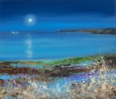 Amanda Hoskin - Midnight Moon,Start Point....oil on paper....38 x 45cm ....£995.00