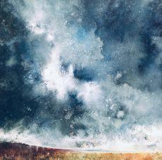 Stewart Edmondson - Dartmoor painting 80x80cms 2250 (002)