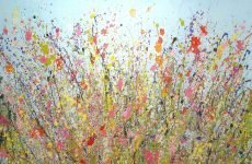Yvonne Coomber - Your beauitful tender love unfolds my heart 120x 80 £2990