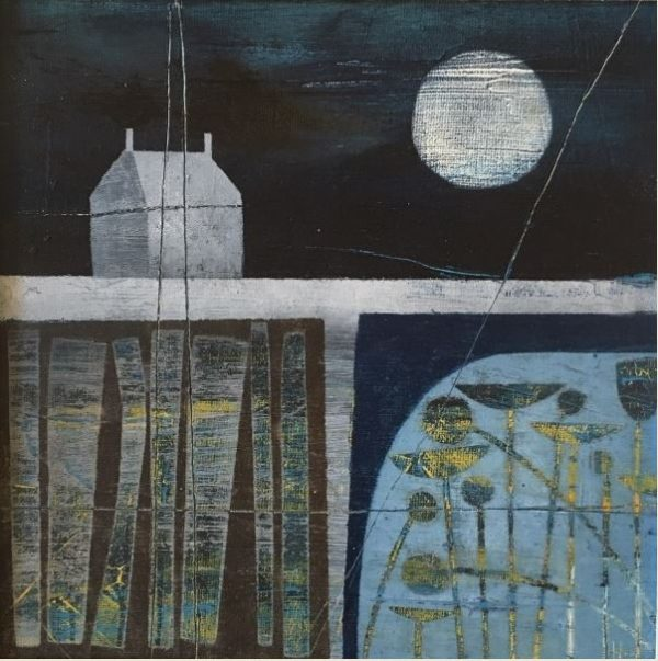 Watching the Moon - Heidi Archer 20x20cm £300