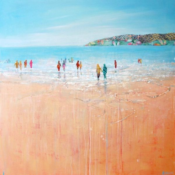 Walking in the Shallows 91x91 £1975