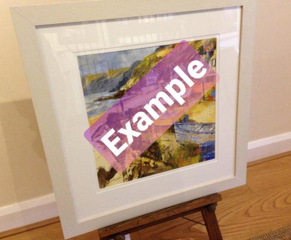 Chris Forsey Glazed Frame Example
