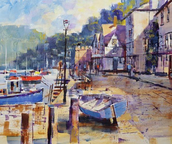 Chris Forsey Around the cove, Bayards, paper 41x51 £995