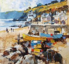 Chris Forsey Boxes and boats, beesands