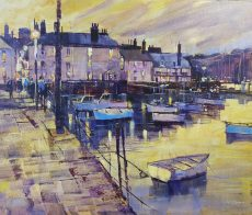 hris Forsey INTO THE EVENING, BAYARDS COVE canvas 60x50 £1350