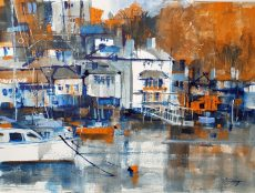 Chris Forsey Kingswear 35 x 28 paper £695