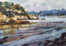 Chris Forsey Low tide, South Sands 35 x 28 paper £695