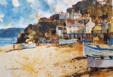 Chris Forsey September sunshine, Torcross 45x35 paper £895