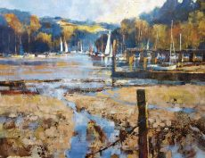 Chris Forsey TURNING SEASON, DITTISHAM canvas 75x60 £1550