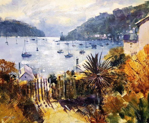 Chris Forsey Warfleet and beyond 60x50 canvas £1350