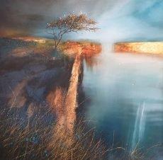 Kate Richardson - Golden Mirror 70x70 £1200