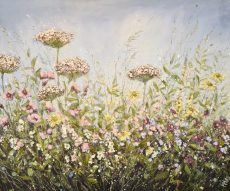 Marie Mills 100x80cm.. 'with love'